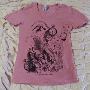 The Gazette Alice in Wonderland shirt